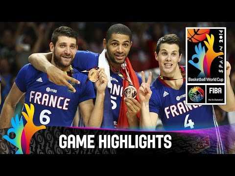 Lithuania v France - Game Highlights - 3rd Place Final - 2014 FIBA Basketball World Cup