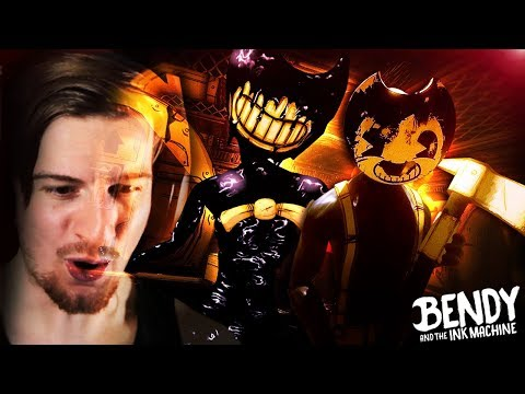 THEY'VE ADDED SO MANY SECRETS. || Bendy And The Ink Machine CHAPTER 2 (REMASTER) thumbnail