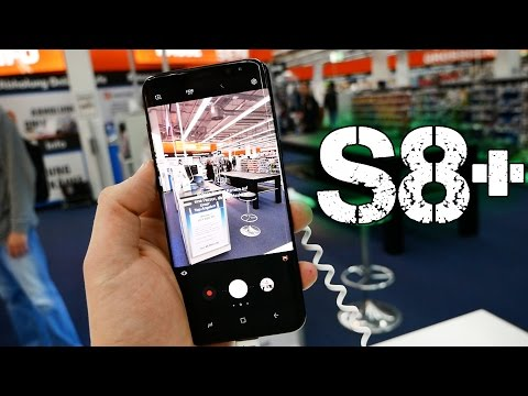 Первое впечатление в магазине от Samsung Galaxy S8+