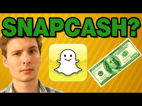 Snapcash: Sending Money Through Snapchat?