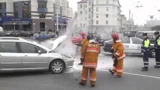 Горел Peugeot 307
