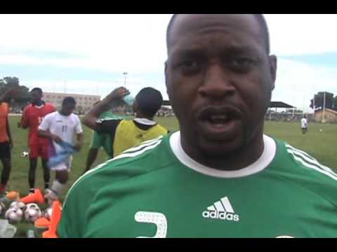 Nigeria Under 20s train in Abuja