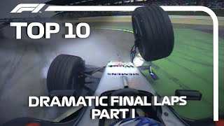 F1: Top 10 Dramatic Final Laps
