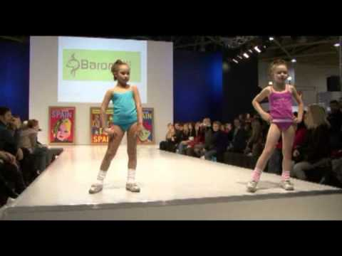 Spain Children's Fashion Show On Cpm 24.02.09 video