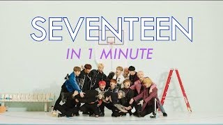 SEVENTEEN IN 1 MINUTE