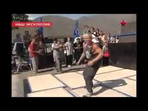 Лезгинский аул Ахты принял чемпионат мира по фрирану. Freerunning
