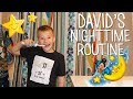 David's Nighttime Routine -
