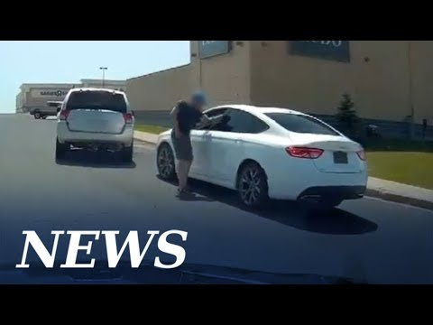 Road rage turns physical, but the dash camera sees all