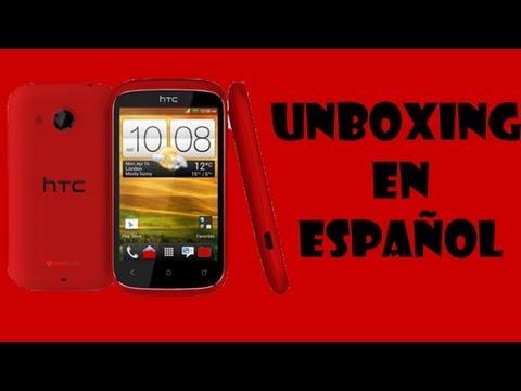 UNBOXING  HTC DESIRE C EN ESPAÑOL
