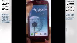 Como poner en download mode samsung galaxy s3 I9300 I747 T999 (3 buttons combo)