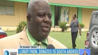 LUNDY FOUNDATION DONATES TO SOUTH ANDROS