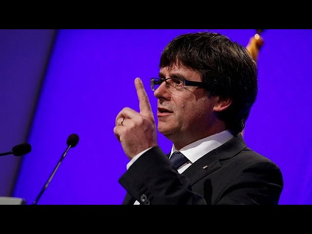 'We have to apply the referendum result,' says Catalan leader Carles Puigdemont