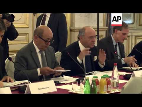 French ministers of defence and foreign affairs meet Japanese counterparts