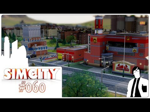 Let´s Play SimCity #060 [Deutsch][HD+] - Transporter: Universität & Verkehr & es läuft