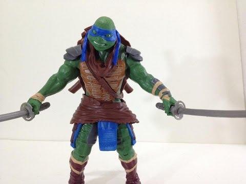 Playmates Teenage Mutant Ninja Turtles 2014 movie: 11 inch Leonardo