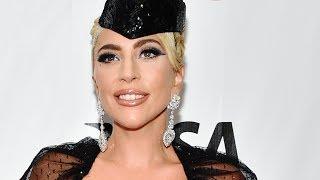 Lady Gaga gets emotional at