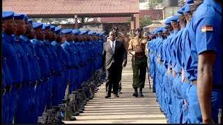 COLOUR AS KENYA POLICE MERGES WITH ADMINISTRATION POLICE!!MATIANGI PRESIDES OVER THE MERGE!