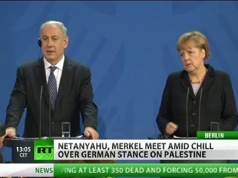Netanyahu, Merkel agree to disagree on Israeli settlements