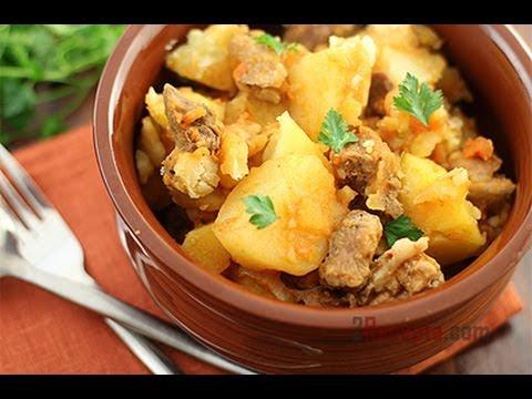 Как тушить картошку в мультиварке - видео