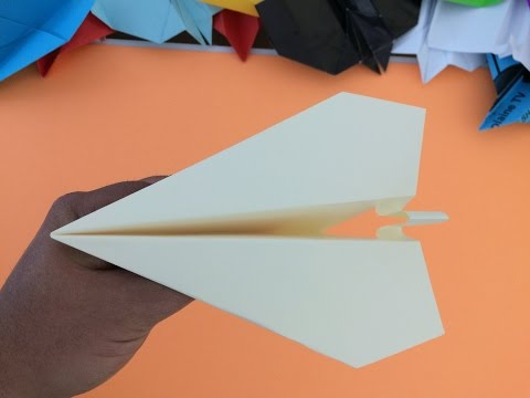 Paper Airplanes - How To Make A Paper Airplane - Best Paper Airplanes In The World / Model - 003