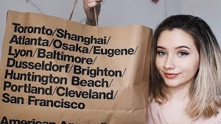 American Apparel Try On Haul // Gxsia