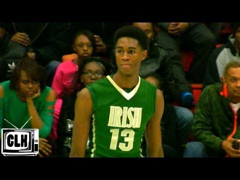 VJ King 6'6 FRESHMAN Living up to the Hype - Akron St Vincent St Mary - Class of 2016