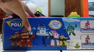 Unboxing Toy Robocar Poli