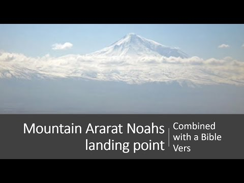 Mountain Ararat  Noahs landing point