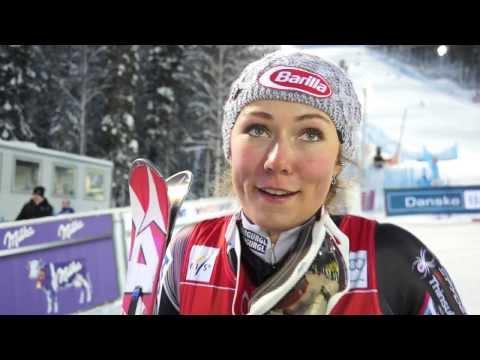 Mikaela Shiffrin on her Slalom win in Levi - USSA Network