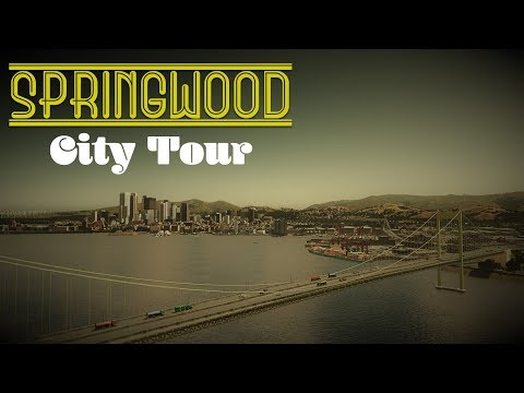 Cities Skylines: Springwood - EP 20 - CITY TOUR