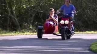 honda ruckus with sidecar