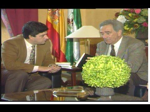 Manuel Conde Pumpido: cesa el primer Defensor del Pueblo Andaluz