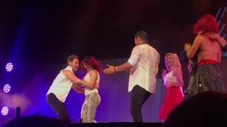 DWTS Live Tour Hot Summer Nights Hershey Dirty Dancing with Woman from the Audience