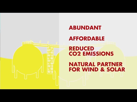 Natural Gas - A Critical Part of the Long Term Energy Solution