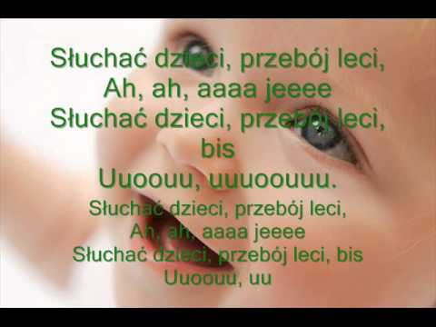 SMERFY-PAPA SMERT Z Tekstem Dla Super Małych Dzieci :)