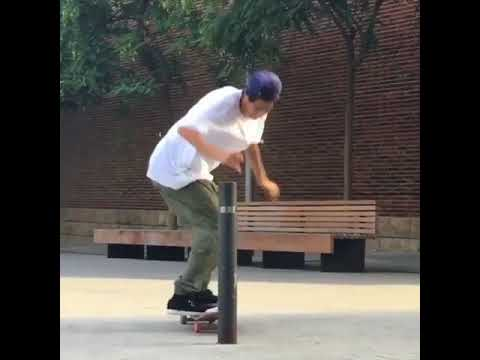 New tricks @instatiago 🙅♂️👮 📹: @lord_giz | Shralpin Skateboarding
