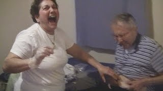 Angelo's Mom Gives Dad an Injection