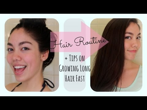 My Hair Routine + How to Grow Your Hair Longer Faster!