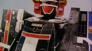 SuperTrain Megazord First Fight (Power Rangers Lightspeed Rescue)
