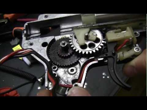 Airsoft Motor Misalignment Fix Part1 M4 Style Grip