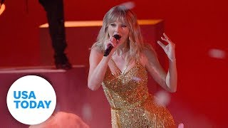 Taylor Swift has historic night at AMAs | USA TODAY