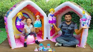 Öykü'nün Prensesleri - Pretend Play w / Giant Indor Inflatable  Playhouse Kids Toy - Oyuncak Avı