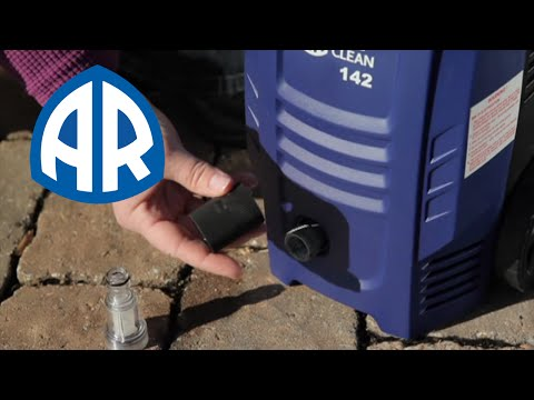 AR Blue Clean Pressure Washer Assembly & Operating Instructions