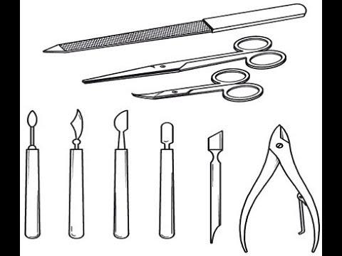 """Какие инструменты понадобятся. Фрагмент вебинара """"Классический педикюр"""".  Варвара Шульц"""