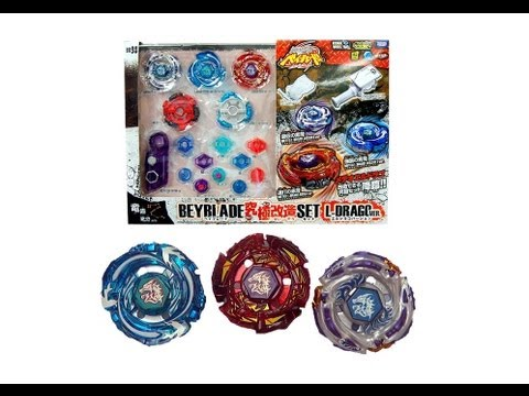 Beyblade Metal Fight BB-98 Meteo L'Drago Ultimate Reshuffle Set Review Unboxing