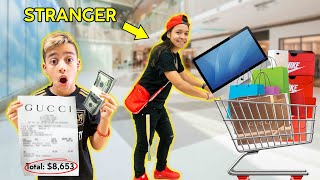 BUYING Random Strangers ANYTHING They Want! *No Budget* | The Royalty Family