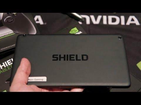 Распаковка планшета NVIDIA Shield Tablet + геймпад + чехол (unboxing)