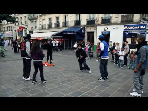 STREET BATTLE Les Twins VS. Bones The Machine+Pee Fly VS. Laura+Boubou | YAK FILMS