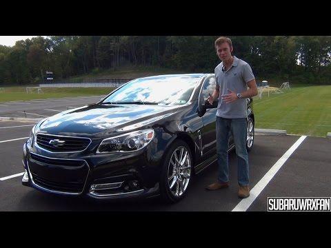 Review: 2014 Chevrolet SS Sedan