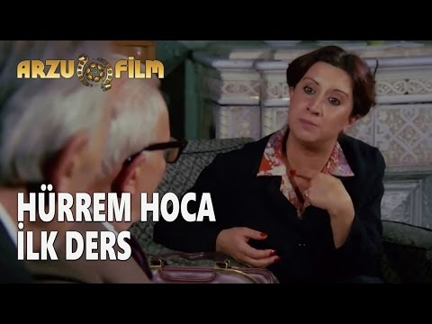 Eski Filmler - Hababam Sınıfı Dokuz Doğuruyor - Hürrem Hoca Tanışma